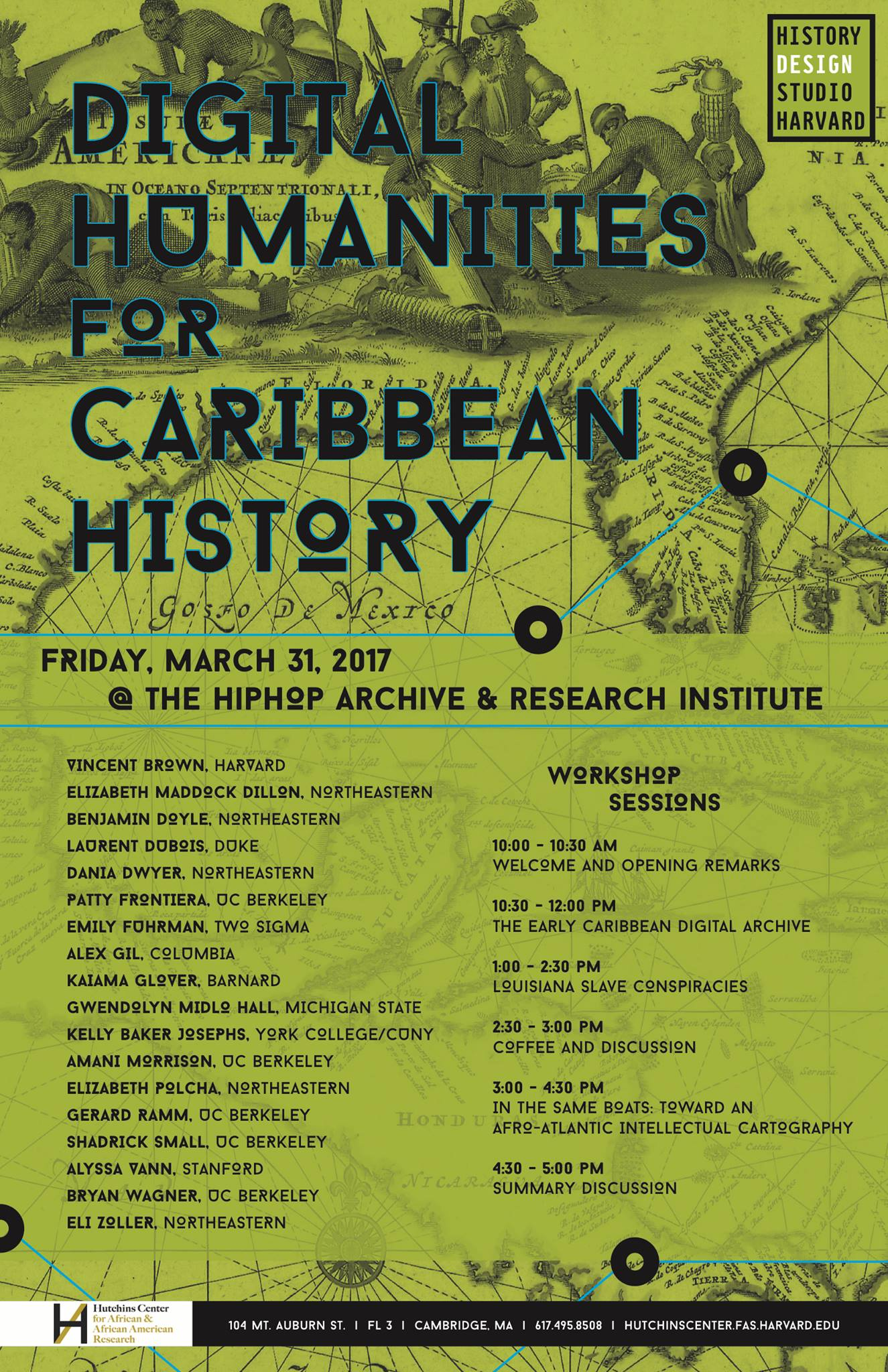 Digital Humanities for Caribbean History at Harvard