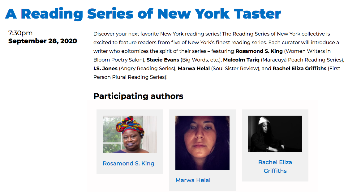 brooklyn book festival rosamond s king