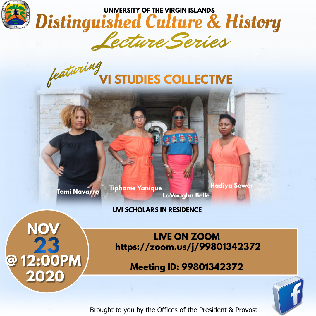 uvi Distinguished Culture History Lecture Series