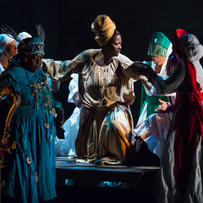 Obeah Opera-- Panamania Production, August 2015. With Tituba, the Elder, and the Orishas. Photograph by Racheal McCaig.jpg